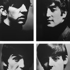 The Fab Four  photo 1962 (printed 2005) archival pigment print on watercolor paper, edition of 50 + 5 AP's, signed  image size > 39.5 x 30 inches  Photograph by Hatami (1928-2017)