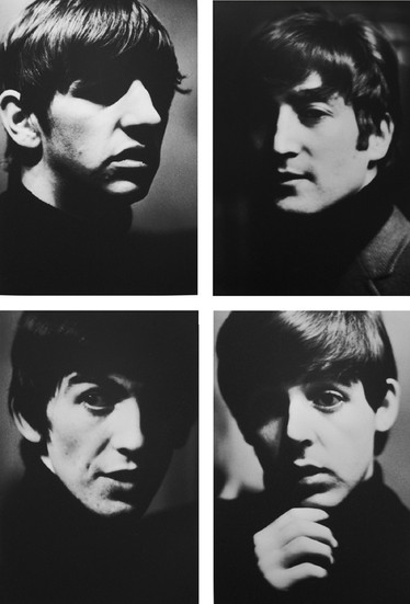 The Fab Four, 1962 (printed 2005) archival pigment print on watercolor paper, edition of 50 + 5 AP's, signed Image Size: 39.5 x 30 inches   100.3 x 76.2 cm  Photography by Hatami (1928-2017)