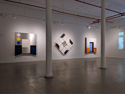 Artists on the Bowery Part 1 Alan Steele Installation View