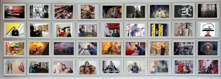 Bob Adelman New York Artists Andy Warhol Roy Lichtenstein