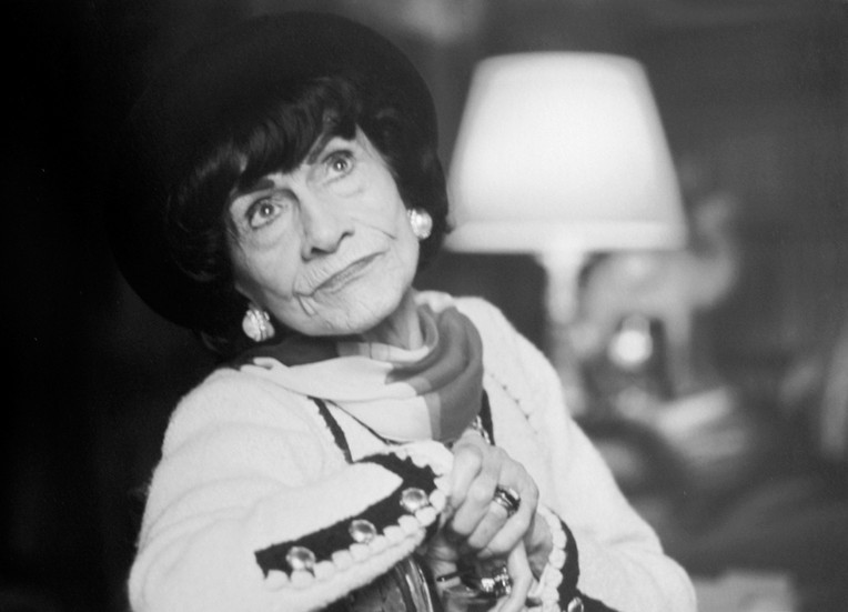Coco Chanel, House of Chanel, rue Cambon, Paris Photograph circa 1965 (printed 2007) archival pigment print, AP, signed Image Size: 11 x 16.5 inches   27.9 x 41.9 cm Paper Size: 16 x 20 inches   40.6 x 50.8 cm  Photograph by Hatami (1928-2017)