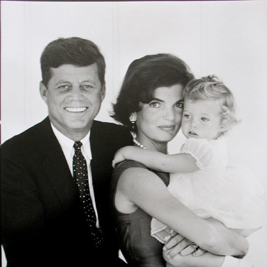 Jacques Lowe (1930-2001)  The Kennedys, Hyannis Port, MA  photo August 1960 [printed December 1997] gelatin silver print, signed  paper size > 16 x 20 inches