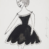 Andy Warhol  Untitled, 1955-67  ink on paper, signed, 11 x 8.5 inches