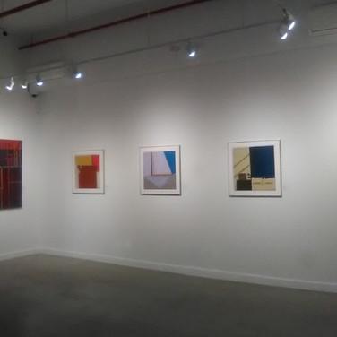 James Juthstrom Installation view