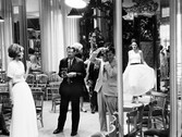 Douglas Kirkland  Photographer Richard Avedon with models, House of Chanel, Paris  photo 1962 [printed later]  archival pigment print, edition of 24, signed  paper size > 20 x 24 inches