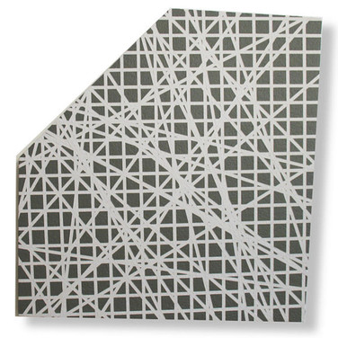Will Insley [1929-2011] Wall Fragment No. 98.1., 1998 acrylic on masonite, 28.5 x 25.5 x 2 inches