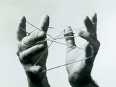 JOHN MULLER  Hand and String  1946  vintage gelatin silver print  13.6 x 16.4 inches