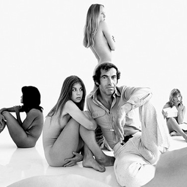 Douglas Kirkland  Roger Vadim on the set of Pretty Maids all in a Row, Hollywood  photo 1970 [printed later]  archival pigment print on watercolor paper, edition of 24, signed, numbered  paper size > 20 x 24 inches