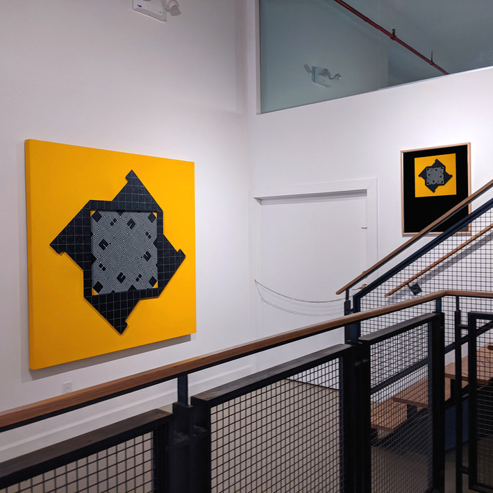 Installation View, Alan Steele in Explorations in Process, Westwood Gallery NYC, November 26, 2019 - January 11, 2020