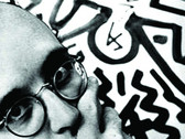 CLAUDIO ELISABETSKY  Keith Haring, New York  1983  gelatin silver print  20 x 16 inches