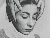 DANIEL MASCLET  Solarized Portrait of Francesca Masclet  1930  vintage gelatin silver print  11.5 x 8.75 inches