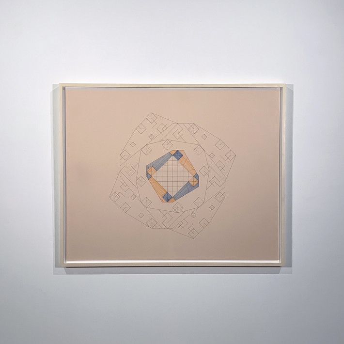 ALAN STEELE Untitled, 2017 pen and ink on museum board Artwork: 32 x 40 inches | 81.3 x 101.6 cm  Framed: 34.25 x 42.25 x 1.75 inches | 87.0 x 107.3 x 4.4 cm  Unique, Framed