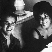 Douglas Kirkland  Douglas Kirkland and Elizabeth Taylor, Las Vegas  photo 1961 [printed later]  archival pigment print on watercolor paper, edition of 24, signed, numbered  paper size > 30 x 24 inches