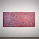 James Juthstrom (1925-2007) Untitled #90, circa 1980s  acrylic, mixed media, and reflective pigments on canvas  120 x 44 inches