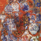 Stuart Sutcliffe (1940-1962)  Untitled, circa 1961-62  oil on canvas,  46.5 x 39 inches
