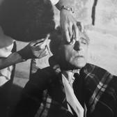 Lucien Clergue [1934-2014] Jean Cocteau, Les Baux de Provence photo 1959 [printed 1996] gelatin silver print, edition of 30 PF, signed paper size > 16 x 12 inches