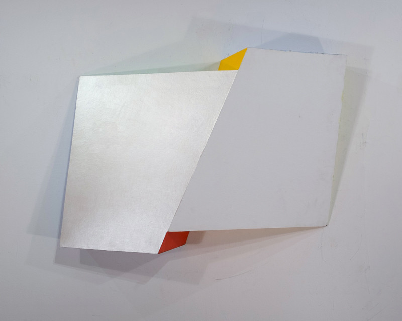 CHARLES HINMAN Pearl Interference, 2008 acrylic on shaped wood Artwork: 53 x 31 x 12 inches | 134.6 x 78.7 x 30.5 cm