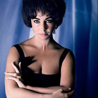 Douglas Kirkland  Elizabeth Taylor  photograph 1961 [printed later]  archival pigment print, edition of 24, signed and numbered  paper size > 24 x 20 inches
