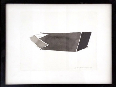 CHARLES HINMAN (b. 1932)  Untitled #1, 1996  ink on paper  8 x 10 inches