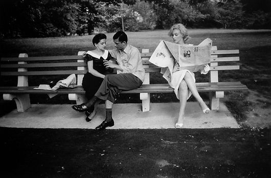 SHAW, Marilyn in Central Park, 1956 h.jp