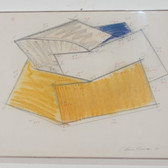 Charles Hinman Untitled, 1979 graphite, oilstick on paper 14 x 18 inches