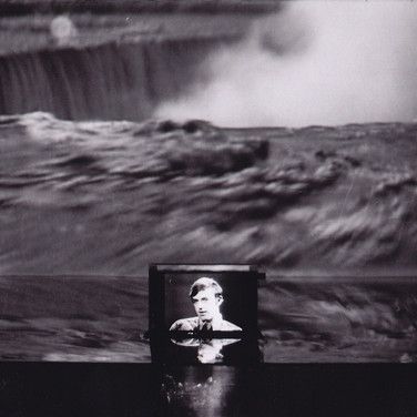 Roger Welch Niagara Falls Project, 1975 video, film, and sculpture installation size variable