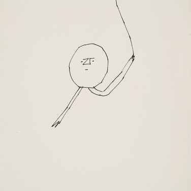Andy Warhol  Untitled, 1955-67  ink on paper, signed 11 x 8.5 inches