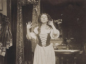 ALFONS MUCHA  Untitled (Maude Adams)  circa 1908  vintage toned gelatin silver print  5 x 4 inches