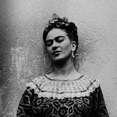 Leo Matiz (1917-1998) Frida Kahlo, Coyoàcan, Mexico  photo 1943 [printed 1997 gelatin silver print, edition of 25, signed 17.25 x 13.25 inches
