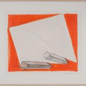 Charles Hinman Balthazar, 1976 graphite, oilstick on paper 26 x 31 inches