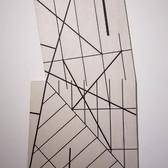 WILL INSLEY (1929-2011) Wall Fragment 1993.8-1994.3, 1993-94 acrylic on Masonite 42 x 24.5 x 2 inches