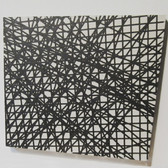 WILL INSLEY (1929-2011) Wall Fragment No. 99.1, 1999 acrylic on masonite 18.5 x 21.5 inches