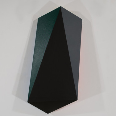 Charles Hinman Jet, 2012 acrylic on shaped canvas 44.5 x 20 x 8 inches