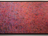 JAMES JUTHSTROM (1925-2007)  Untitled #90, circa 1960s  acrylic, mixed media on canvas  120 x 44 inches