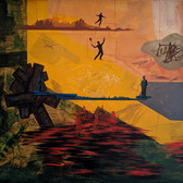 RON MOROSAN Post Future Landscape, 1988 oil and acrylic on canvas 71 x 80 inches