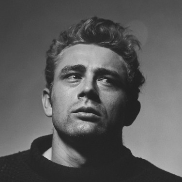 """Roy Schatt [1909-2002] James Dean """"Torn Sweater"""" Series photo 1954 [printed later] gelatin silver print, edition of 65, signed paper size > 20 x 16 inches photo Roy Schatt CMG"""