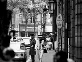 Douglas Kirkland  Coco Chanel walking to the House of Chanel, rue Cambon, Paris  photo 1962 [printed later]  archival pigment print, edition of 24, signed  paper size > 24 x 20 inches