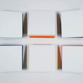 Charles Hinman Eclipse, 2010 acrylic on six shaped canvases 16 x 16 x 9 inches each