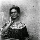 Leo Matiz (1917-1998)  Frida Kahlo, Coyoacàn, Mexico  photo 1943 [printed 1997]  gelatin silver print, edition of 25, signed 17.25 x 13.25 inches