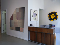 explorations IN process Installation View  Artworks by Will Insley and Alan Steele.