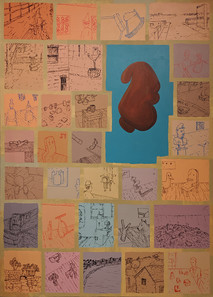 RON MOROSAN  Art Investigation #1, 2005 acrylic on canvas 68 x 48 inches