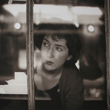 Roy Schatt [1909-2002]  Maureen Stapleton.  Member of THE ACTORS STUDIO  (circa 1960s) [printed later]  Sepia toned gelatin silver print, signed, stamped  size > 16 x 19.75 inches  © Estate of Roy Schatt