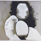 Boris Lurie (1924-2008) Altered Photos: Pinup (Dismembered Figure), circa 1963 photo emulsion and acrylic paint on canvas 46 x 56 inches