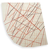 Will Insley [1929-2011] Wall Fragment No. 03.02, 1989/03 acrylic, pencil on masonite, 84 x 87 x 2.5 inches