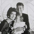 Jacques Lowe (1930-2001) The Kennedys  photo 1960 [printed later]  gelatin silver print, signed  paper size > 16 x 20 inches