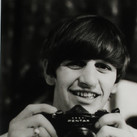 Ringo Starr with his camera February 1964  vintage gelatin silver print image size > 11 x 7.25 inches  Photograph by Hatami (1928-2017)