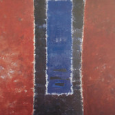 Herman Alfred Sigg  In the Middle Realm VII, 1995  acrylic on canvas,  91 x 54 inches