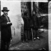 John Thomson (1837-1931)  Self Portrait with Honan Soldiers, Amoy  photograph 1869 [printed later]  gelatin silver print from the glass negative, edition of 350  16 x 20 inches, stamped