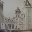 Séraphin-Médéric Mieusement (1840- 1905)  Château de Pau, circa 1880s   albumen print mounted on bookboard, inscribed, stamped  17 x 10.5 inches