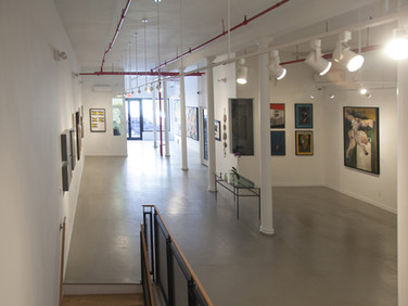 Boris Lurie  LIFE AFTER DEATH   Installation View  WESTWOOD GALLERY NYC